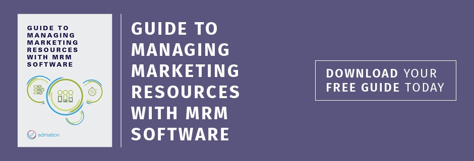 Managing Marketing Resources with MRM